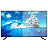 Zzmop Smart TV Digital,TV LED 1080p Ultra HD con Monitor de Pantalla Ancha,Calidad 4K HD,24 Pulgadas,32 Pulgadas,para El Hogar,Comercial,Negro.