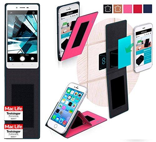 Hülle für Oppo Mirror 5s Tasche Cover Hülle Bumper | Pink | Testsieger