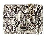 Girly Handbags Womens piel de serpiente mini bolso de embrague