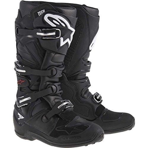 Alpinestars Tech 7 Men's Black Motocross Boots - 11