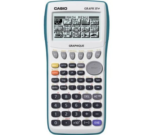 CASIO Calculatrice Graph 35+ + Calculatrice de poche HL-820VER