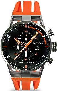 Locman - Locman reloj hombre cronógrafo Montechristo 051000BKFOR0GOO
