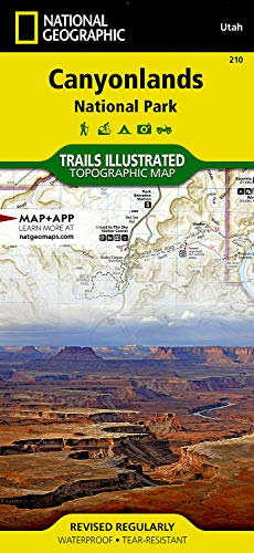 Canyonlands National Park: National Geographic Trails Illustrated Utah: Trails Illustrated National Parks (National Geographic Trails Illustrated Map, Band 210)