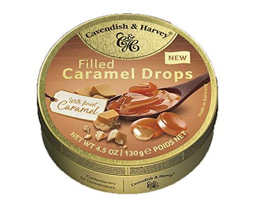 Cavendish & Harvey Filled Caramel Drops with finest Caramel 130g