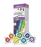 dsnetz Chakrakerzen Körperkerzen 7 Chakra | Kerzen für Körper Chakra-Farben Meditation Zubehör | Esoterik Geschenke günstig online kaufen