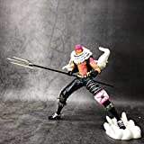 YIGEYI Figura de acción de One Pieza Charlotte KATAKURI 18cm Figuras de PVC de PVC Coleccionable Mod...