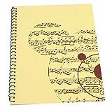Bnineteenteam Musica Quaderno, Manoscritto quaderno 50 Pagine Taccuino di Musica Manoscrit...