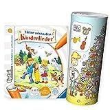 tiptoi Ravensburger Kinder-Buch 4-7 | Meine schönsten Kinderlieder + Musik Instrumente Wimmel-Poster