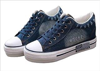 [MARON&CHOCO] レディース シューズ スニーカー デニム ジーンズ 靴 インディゴ