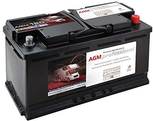 Büttner MT-AGM-Batterie 120 Bord-Versorgungsbatterie