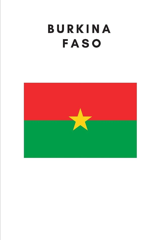 壊れたタバコ外出Burkina Faso: Country Flag A5 Notebook (6 x 9 in) to write in with 120 pages White Paper Journal / Planner / Notepad