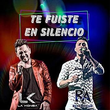 Te Fuiste en Silencio (feat. La K'onga)