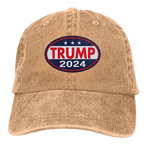 Unisex Hat Trump 2024 Gorra de béisbol ajustable sombrero de sol