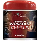 Lipo Express Workout Hot Gel 17 Oz - Best Hot-Gel Cream. Perfect for Workout and Slimming. Thermoactive Hot Gel - Also Great for Muscle Relaxation and Massage