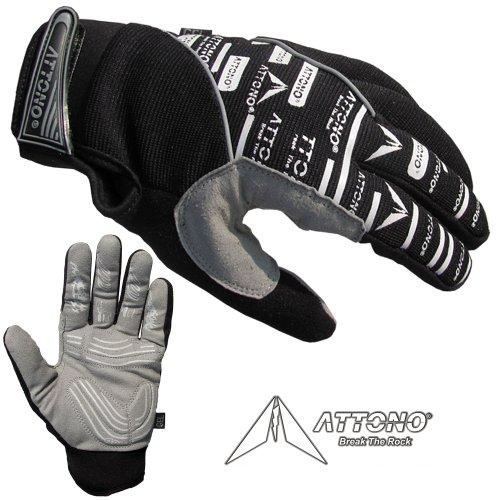 ATTONO Mountainbike Handschuhe Gel Fahrrad BMX Downhill Fahrradhandschuhe Gr. 11/XXL
