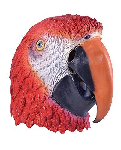 Bristol Novelty BM417 Parrot Overhead Mask, One Size