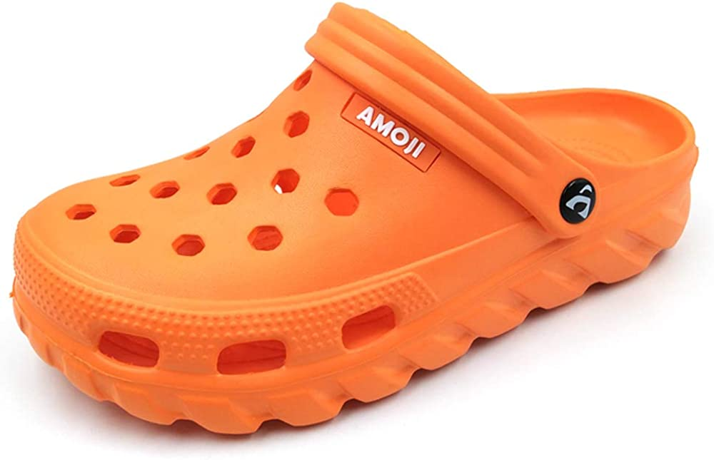 Amoji Unisex Clogs Gardening Shoes Summer Shower Slippers AA1521