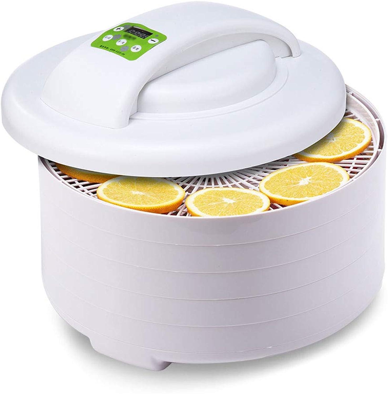 MEI XU Déshydrateurs aliHommestaires Déshydrateur d'aliHommests - réglage intelligent de la température du séchoir à fruits, puissance de nettoyage 0250W, conversion de fréquence compacte et légère