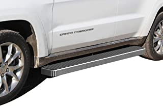 APS iBoard Running Boards 6 inches Custom Fit 2011-2020 Jeep Grand Cherokee Sport Utility 4-Door (Exclude SRT and Trail Hawk Models) (Nerf Bars Side Steps Side Bars)