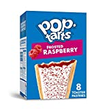 Pop-Tarts, Breakfast Toaster Pastries, Frosted Raspberry, Proudly Baked in the USA, 13.5oz Box (1 Pack 8 Count)