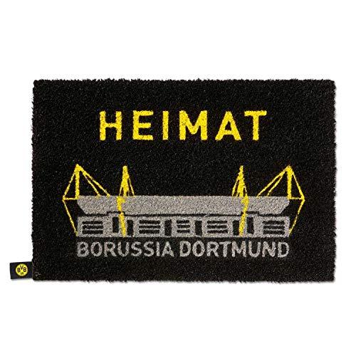 BVB Borussia Dortmund - Fussmatte Heimat - Matte Haustür