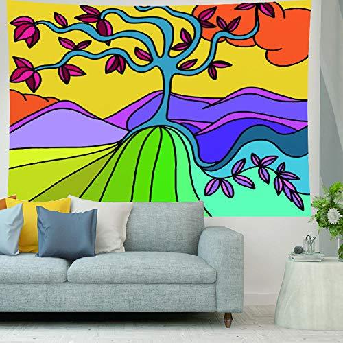 HNFY Como sábanas, manteles, toallas de playa. Tapiz decorativo para colgar en la pared. Chica hermosa vigorosa Tapiz de mandala indio_180cm*300cm