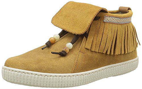 Victoria Botin FLECOS Serraje, Desert Boots Femme, Marron (Cuero), 40