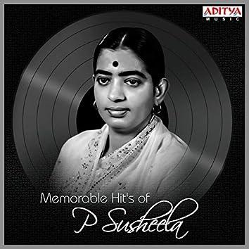 Memorable Hit's of P. Susheela