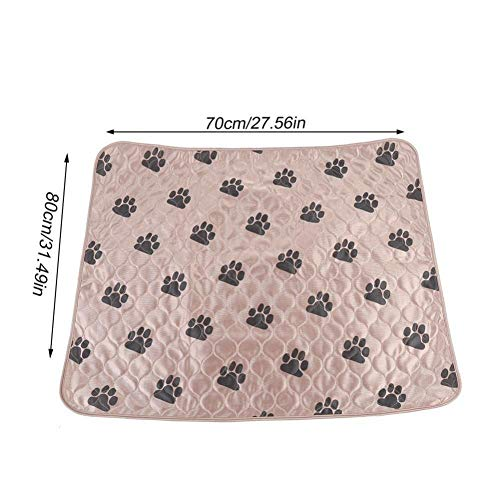Dog Mat Waterproof Reusable Washable Dog Pee Pads for Dog Cat Fast Absorbing Pads Bed Sofa Mattress Protector Cover for Travel