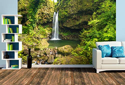 Premium Foto-Tapete Emerald Pool (versch. Größen) (Size L | 372 x 248 cm) Design-Tapete, Wand-Tapete, Wand-Dekoration, Photo-Tapete, Markenqualität von ERFURT