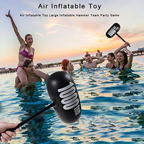 Augproveshak Martillos inflables Grandes, Juguetes de Piscina para niños y Adultos para Juegos de Playa y Fiestas en la Piscina, Juguetes de Agua