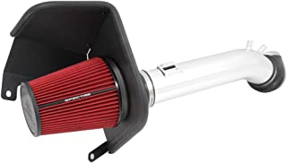 Spectre Performance Air Intake Kit with Washable Air Filter: 2014-2019 Chevy/GMC/Cadillac (Silverado 1500, Suburban, Tahoe, Sierra 1500, Yukon, Escalade) 5.3/6.2L V8, Red Oiled Filter , SPE-9006