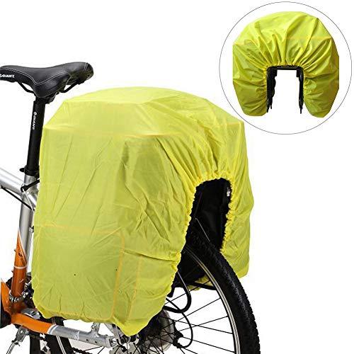 WXGY Fahrradtasche Regenschutzhülle Fahrrad Rücksitz Tasche Reisetasche Mountainbike Rennrad Rückentasche Gepäcktasche Regenschutz