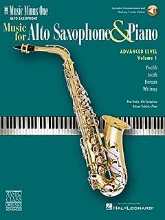 Advanced Alto Sax Solos - Volume 1: Music Minus One Alto Saxophone
