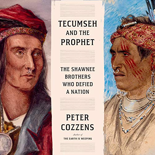 Tecumseh and the Prophet audiobook cover art