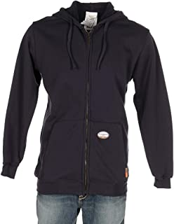 Mens Rasco Navy FR Full Zip Hoodie