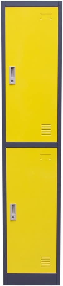 Diamond 67% OFF of fixed price Sofa Limited time for free shipping 2 Door Metal Storage Locker with Key Cabinet E Lock