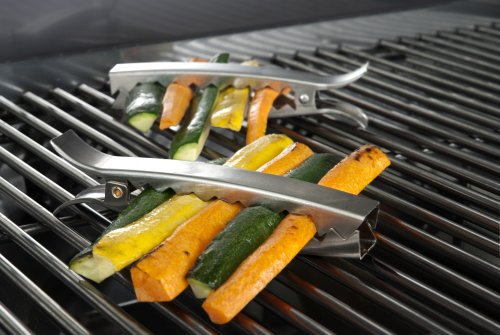 Charcoal Companion Stainless Grill Clips / Set 4