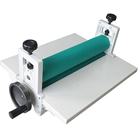 Amazon.com : INTBUYING 14Inch Cold Manual Laminator All Metal Frame 360MM  Manual Cold Roll Laminator Mount Laminating Machine : Office Products