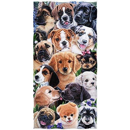 Puppy Collage Super Soft