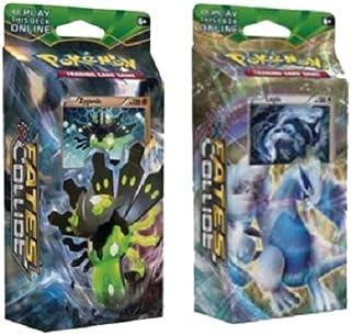 Pokemon Xy Fates Collide – Both Theme Decks Zygarde & Lugia, 120 Cards