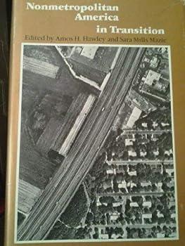 Hardcover Nonmetropolitan America in Transition Book