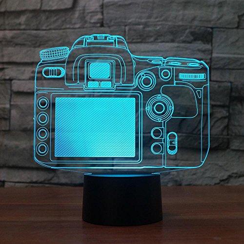 Jiushixw 3D acryl nachtlampje met afstandsbediening van kleur veranderende tafellamp touch tafellamp geschenk liefhebbers roos kleurverandering creatief nachtlampje zoals bruiloftsdecoratie creatief nachtlampje