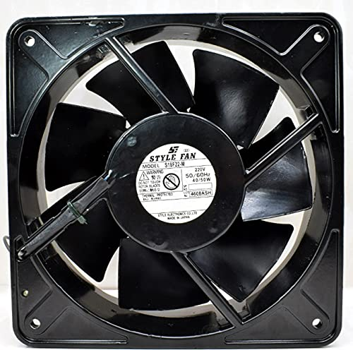 S18F22-M Style New arrival Fan 200VAC 40 50W Max 51% OFF 180×180×65mm Cooling