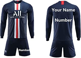 Soccer Jerseys for Kids Custom Names and Numbers Long Sleeve Football Jerseys for Men Soccer Jersey Men Sportswear
