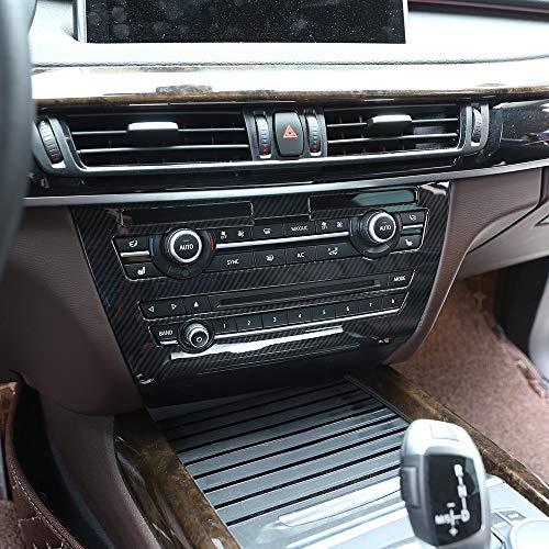 Cadre en fibre de carbone ABS pour console centrale de voiture pour X5 F15 2014–2018 Accessoires