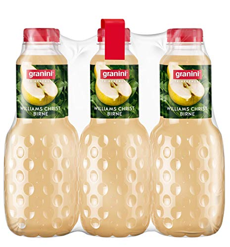 granini Trinkgenuss Birne, 6er Pack (6 x 1 l Flasche)