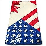 Bert-Collins Towel Canadiense Canadá Bandera de EE. UU. Estadounidense Toallas de Playa Toallas de Playa 80x130cm
