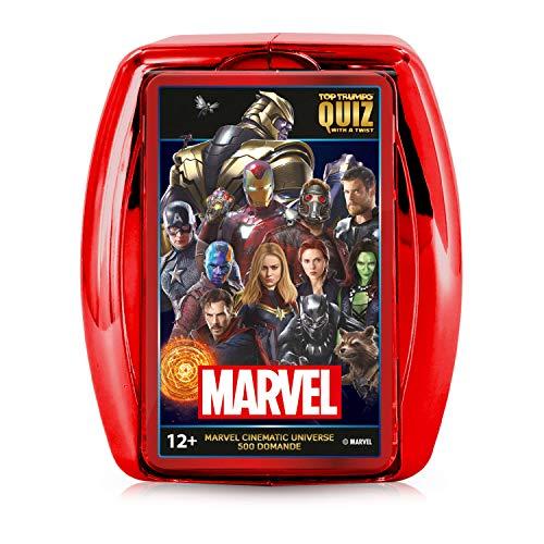 Marvel Cinematic Universe Top Trumps Quiz Game - Italian Edition