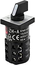 KEDU ZH-A Rotary Cam Switches Three Ply Change Over Switch for Commercial and Industrial Equipment Electric Machinery 125V...